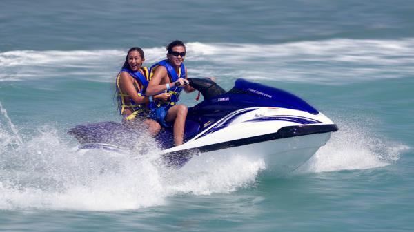 Jet Skiing in Jamaica