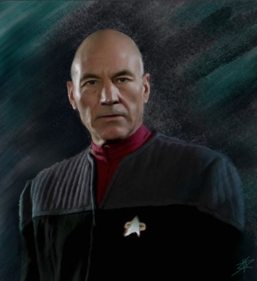 #captain picard, #star Trek