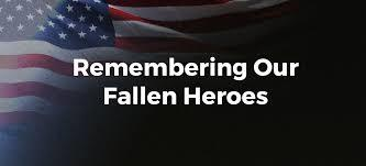 DRS REPORT: Take the time to share this to honor our fallen heroes. You will be missed.