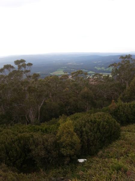 The view from Mt Saint Leonard