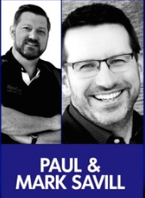 Pau and Mark Savill