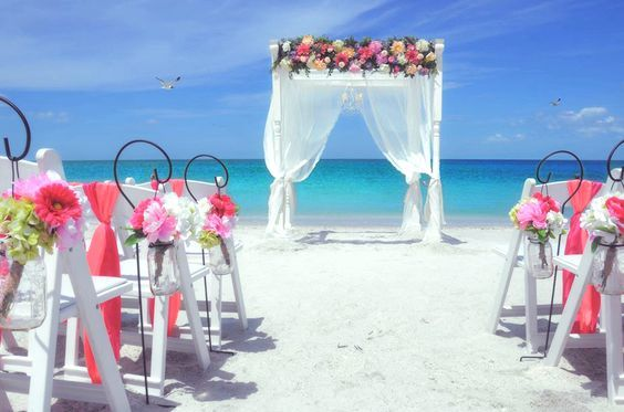 All Inclusive Beach Wedding Package | Pink