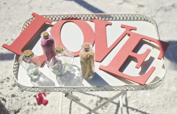 Simple beach wedding in Pensacola Florida