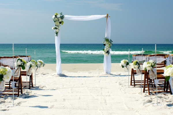 Destin Beach Weddings.