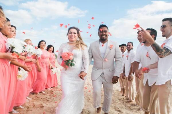 Perdido Key Beach Wedding Flowers