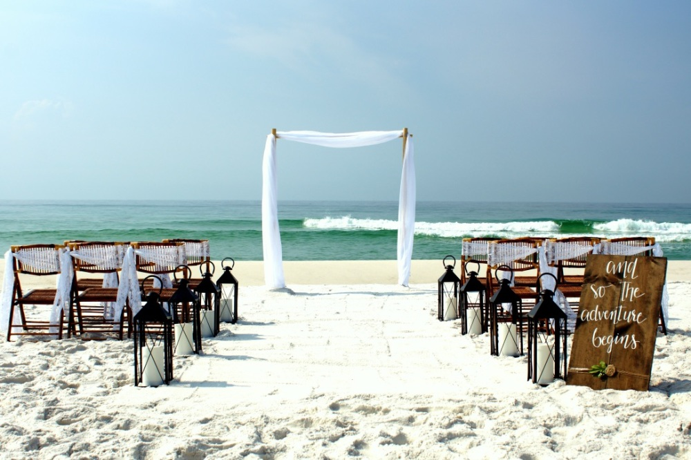 Pensacola Beach wedding Package Southern Charm