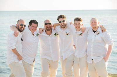 Wedding Party Pensacola Beach.