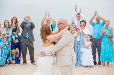 Beach Wedding on Navarre Beach, Florida