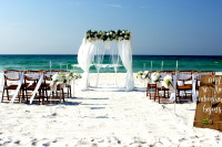 Beach Wedding, Navarre Beach, Opal Beach, Pensacola Beach, Perdido Key Florida