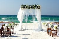 Beach Wedding Package for Navarre Beach, Opal Beach, Pensacola Beach and Perdido Key Florida
