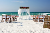Beach Weddings, Perdido Key, Navarre Beach, Opal Beach, Pensacola Beach.