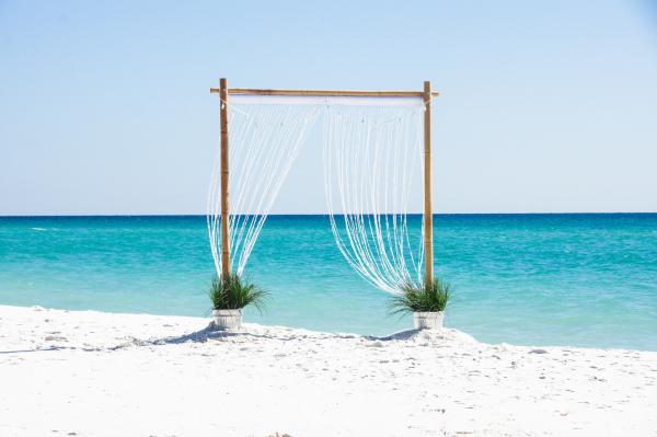 Seaside Wedding Arbor