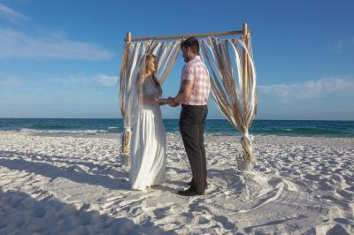 Beach Wedding Pensacola FL.