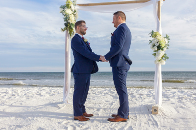 Pensacola Gay Beach Weddings