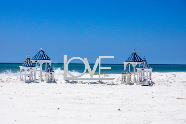 Pensacola Beach Wedding Package