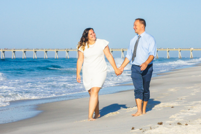 Beach Wedding Pensacola FL.