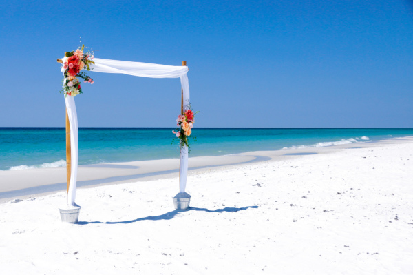 Island Girl Wedding Arbor
