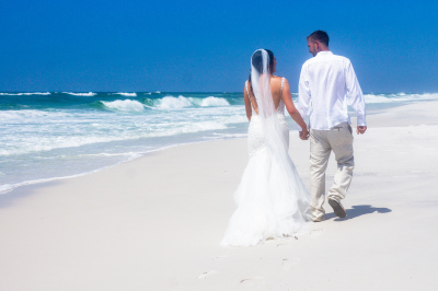 Dream Beach Wedding in Pensacola