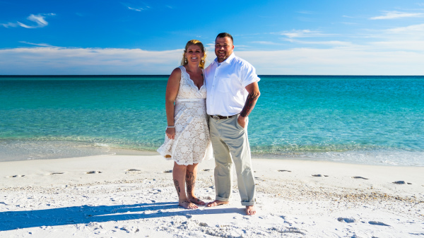 beach wedding packages Pensacola