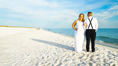 beach weddings in Navarre
