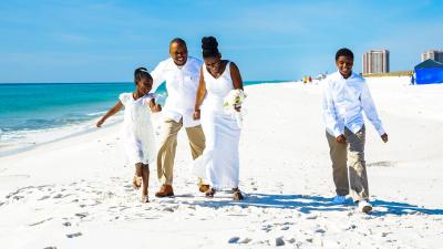 Beach Weddings Pensacola FL.