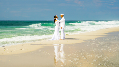 Navarre FL Beach Weddings