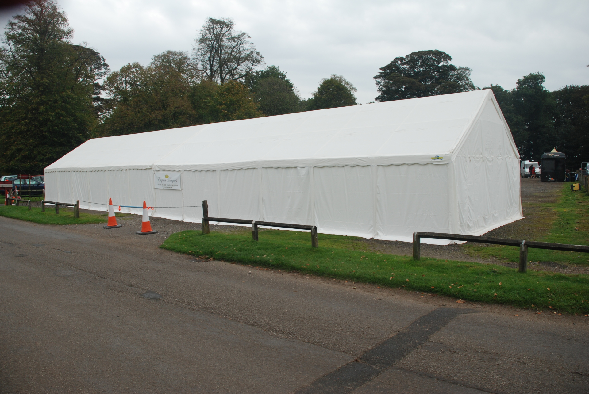 6m x 24m marquee