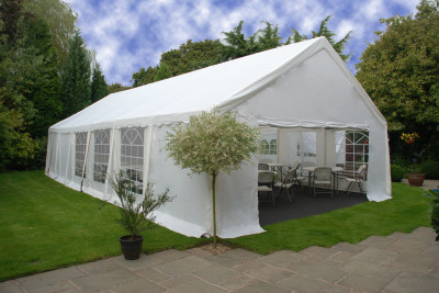 6m x 12m marquee with carpet tables and chairs