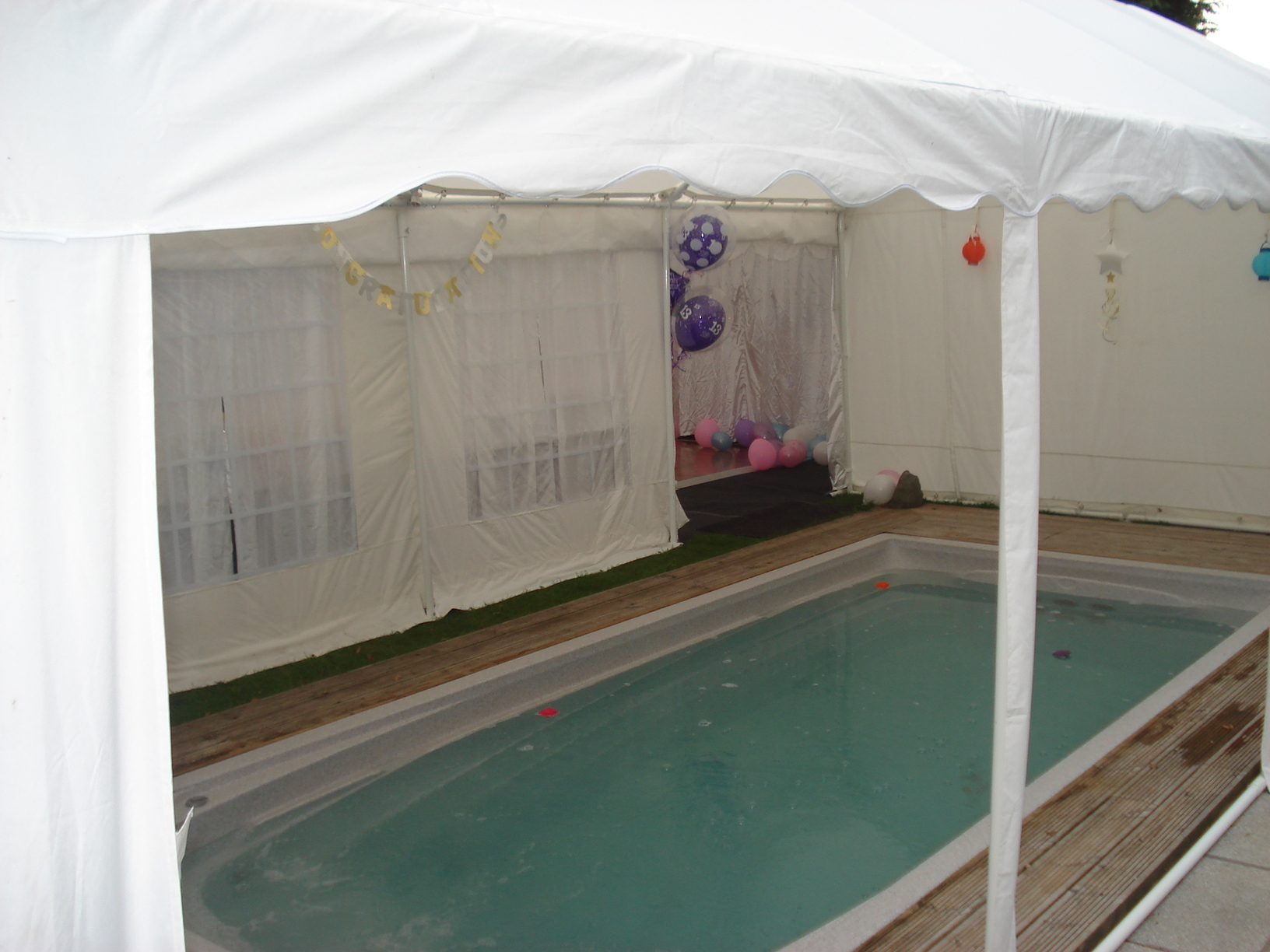 4m x 8m Marquee