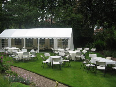4m x 10m Marquee