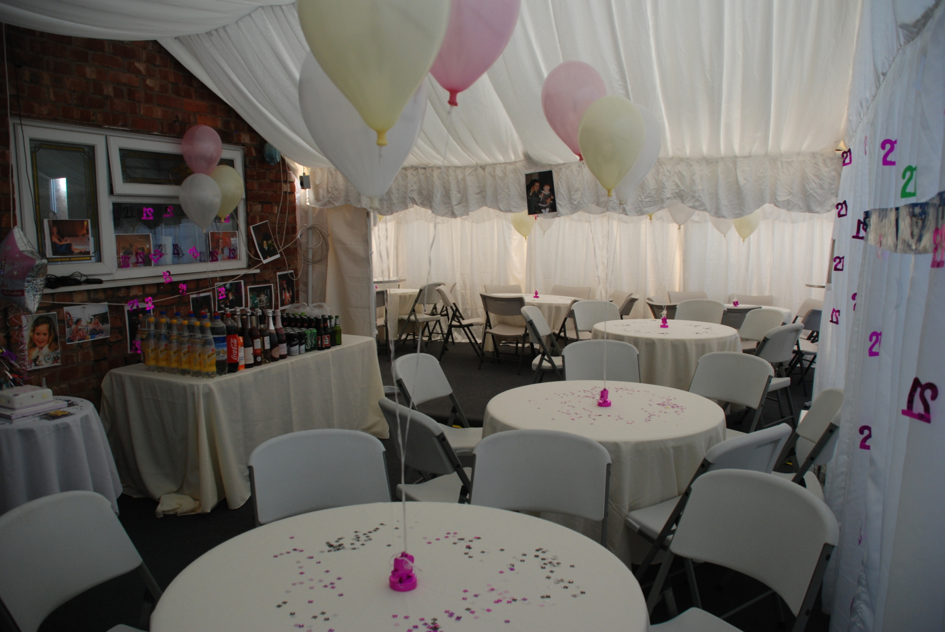 6m x 4m Marquee