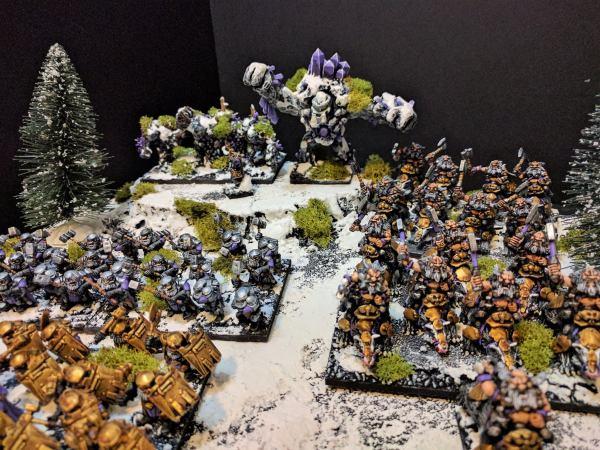 Shield Breakers and Berserker Brock Riders