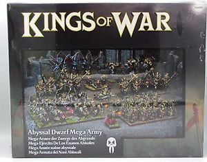 From the Box to the Tabletop: Abyssal Dwarfs