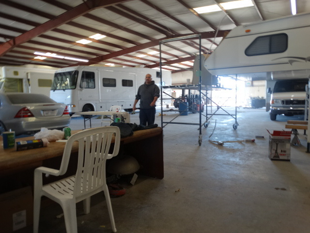 ALT=Clear Coat Collision, Diesel truck repair shop Fontana Ca,