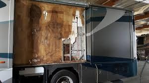 RV Paint water damage