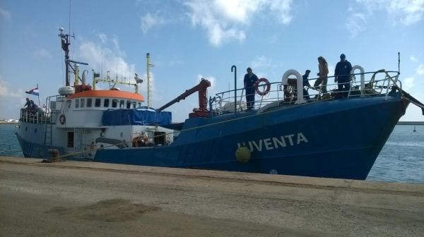 ALL SEAS assists ONG in Zarzis for sea immigrants rescue