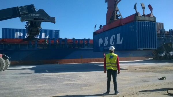 First Pioneer Shipping Ship in Sfax port