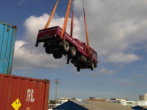 Project Cargo in Bizerta Port