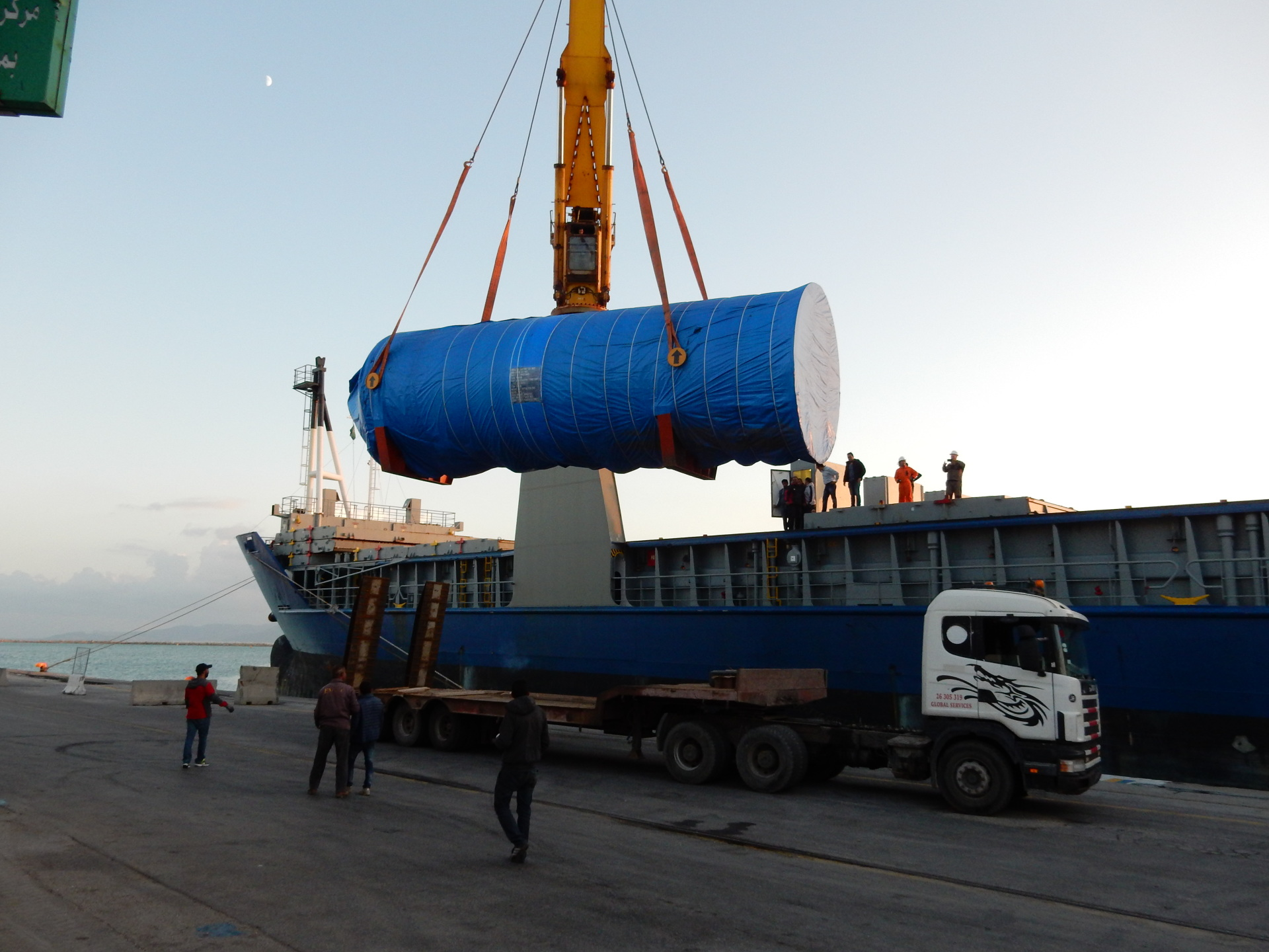 Project Cargo in Rades port