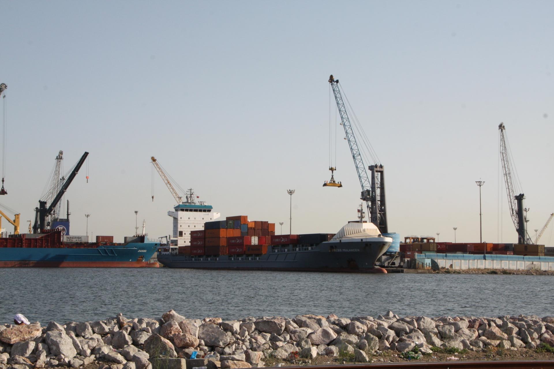 X-Press Ship in Rades
