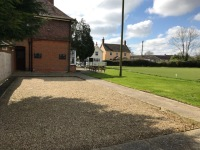 Pétanque is played at the Swan, it's a form of boules where the goal is to toss or roll hollow steel balls as close as possible to a small wooden ball jack.