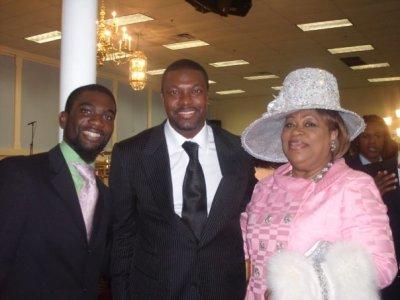 Chris Tucker & Mama Tucker
