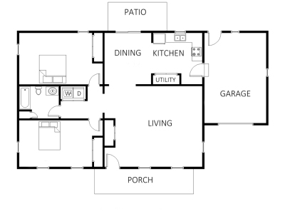 Realty floorplans marketing floor plans for real estate for Floor plans for real estate marketing