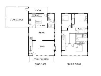 Realty floorplans marketing floor plans for real estate for Floor plans for real estate marketing