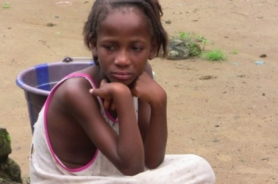Ebola Victim Child: Mercy  Kennedy--who cares???????????
