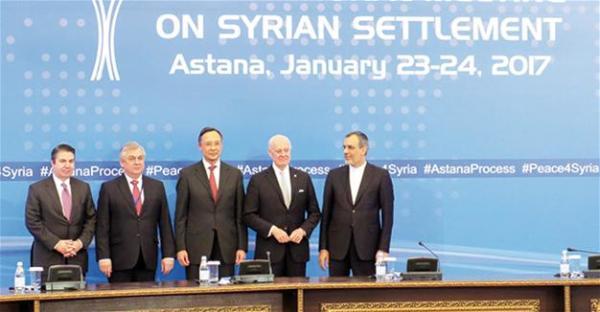 Συμφωνία στην Άστανα για νέες συνομιλίες - Η Τουρκία θα ελέγχει και στο μέλλον την Al Bab