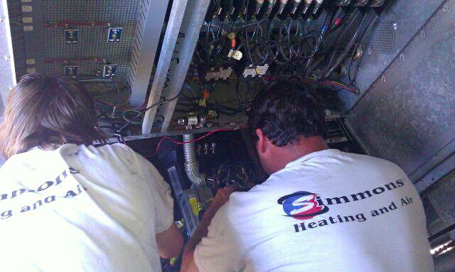 Simmons Commercial Heating And Air Conditioning North