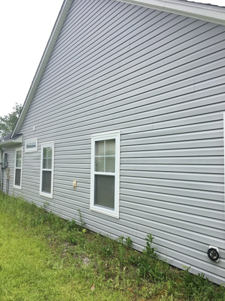 After Pressure Washing Siding Myrtle Beach SC