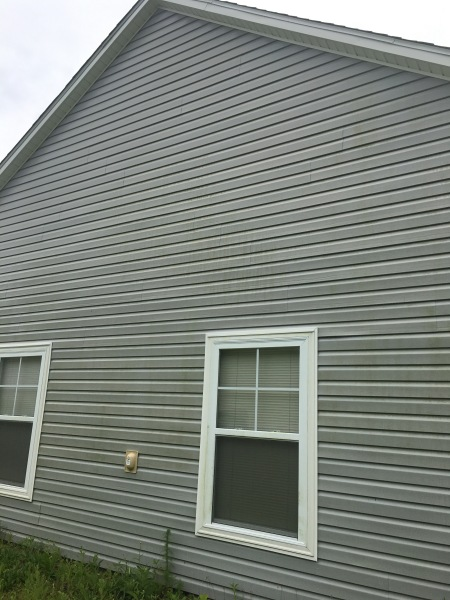 Before Pressure Washing Siding Myrtle Beach SC