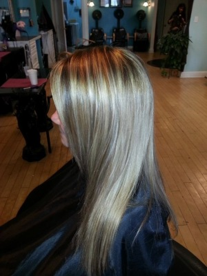 Hair Straighten by Jennifer Kirkland